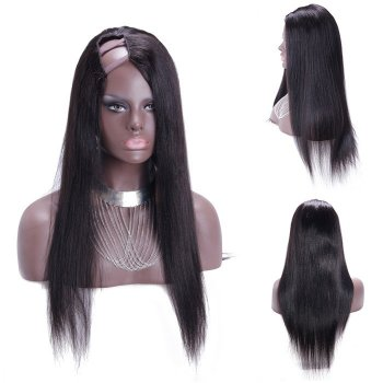 30 Inch Yaki Indian Remy Hair U part Wigs PWU26