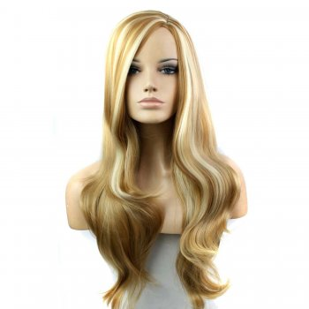 Synthetic Capless Hair Wig PWS250 Wavy