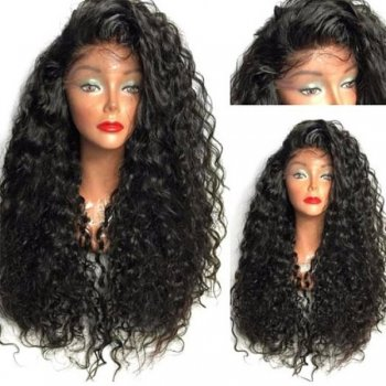 Lace Front Synthetic Hair Wig PWS399 Curly