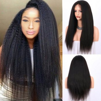 Lace Front Synthetic Hair Wig PWS409 Yaki