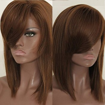 Lace Front Synthetic Hair Wig PWS432 Straight