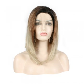 Synthetic Lace Front 3 Tone Hair Wig PWS357 Straight