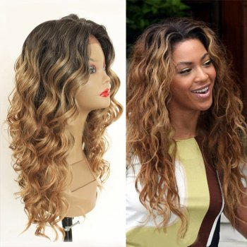 Lace Front Synthetic Hair Wig PWS434 Body Wavy