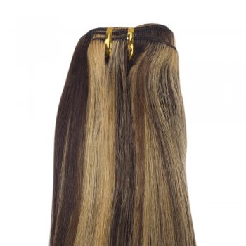 100g Straight Indian Remy Hair #4/27