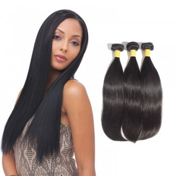 Virgin Indian Straight Hair 3 Bundles