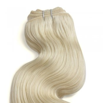 100g Body Wavy Brazilian Remy Hair #613 Lightest Blonde