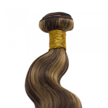 100g Body Wavy Brazilian Remy Hair #4/27