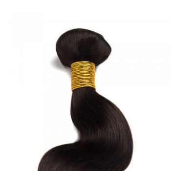 100g Body Wavy Indian Remy Hair #2 Darkest Brown