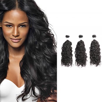 Diamond Virgin Hair Natural Wavy 3Bundles