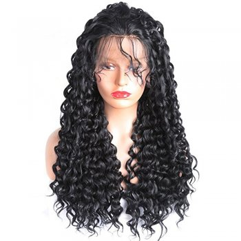 Lace Front Synthetic Hair Wig PWS398 Kinky Curly