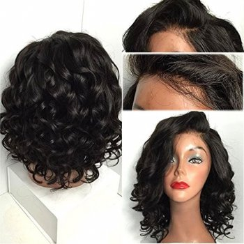 Lace Front Synthetic Hair Wig PWS436 Curly